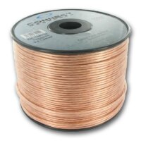Connect research 2x1.5mm kolonėlių kabelis