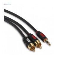 QED Profile 3,5 JACK → 2 RCA kabelis
