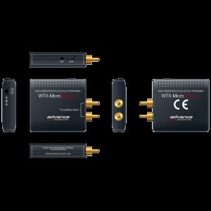 Advance Acoustic WTX-Microstreamer belaidis WiFi imtuvas